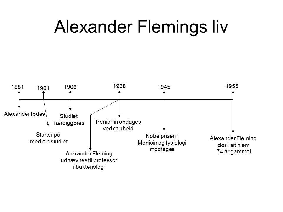 Alexander Flemings liv