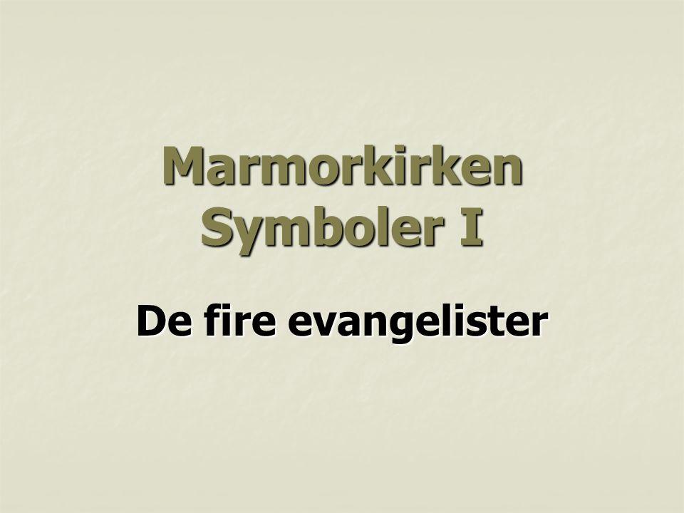 Marmorkirken Symboler I