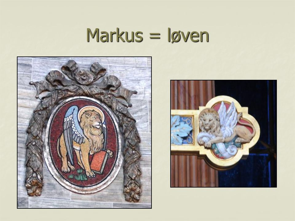 Markus = løven