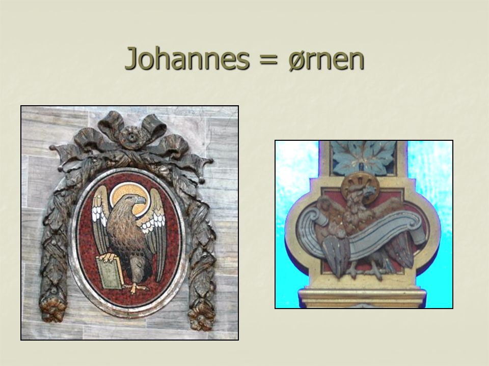 Johannes = ørnen
