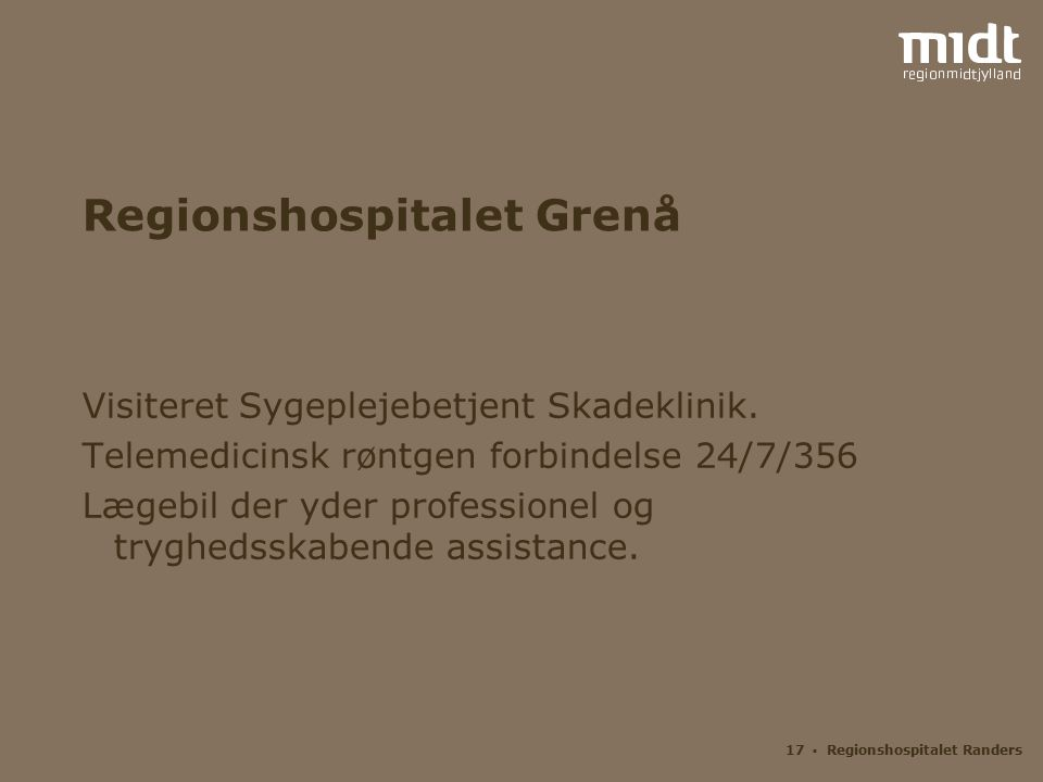 Regionshospitalet Grenå
