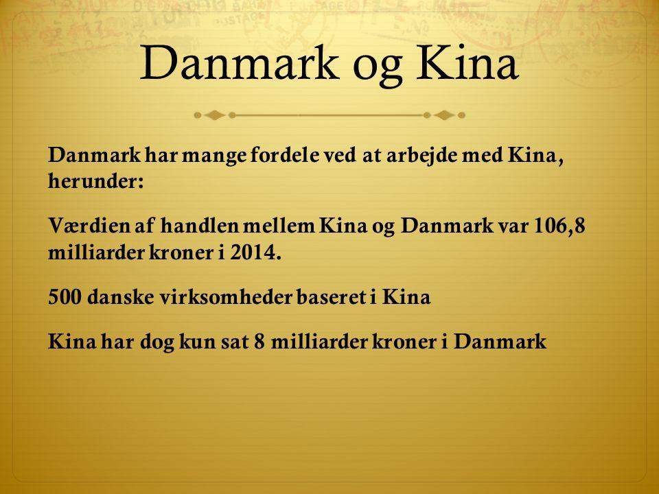 Danmark og Kina