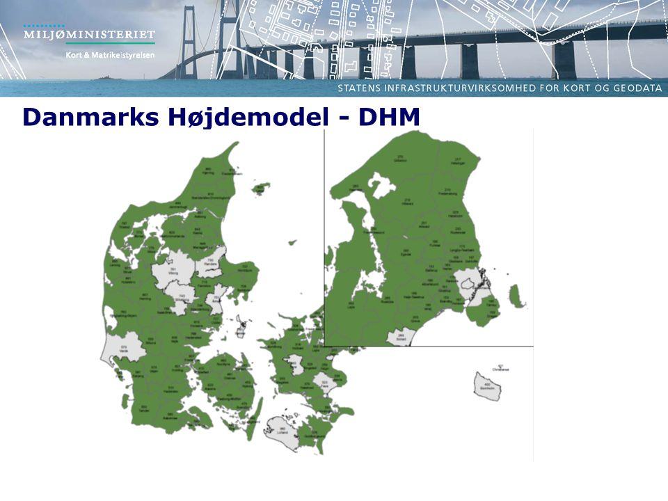 Danmarks Højdemodel - DHM