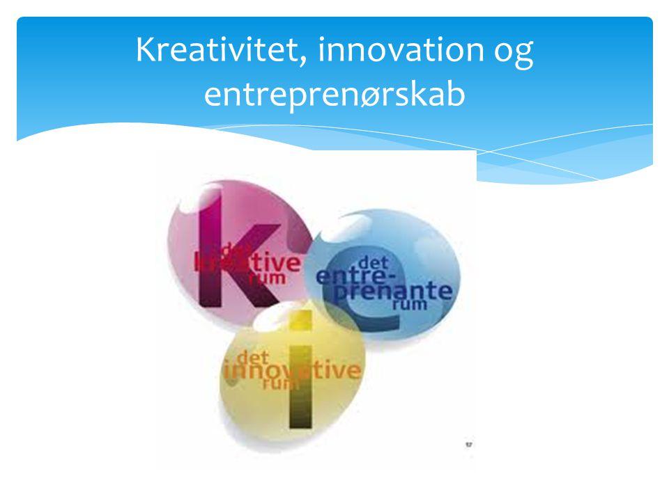 Kreativitet, innovation og entreprenørskab