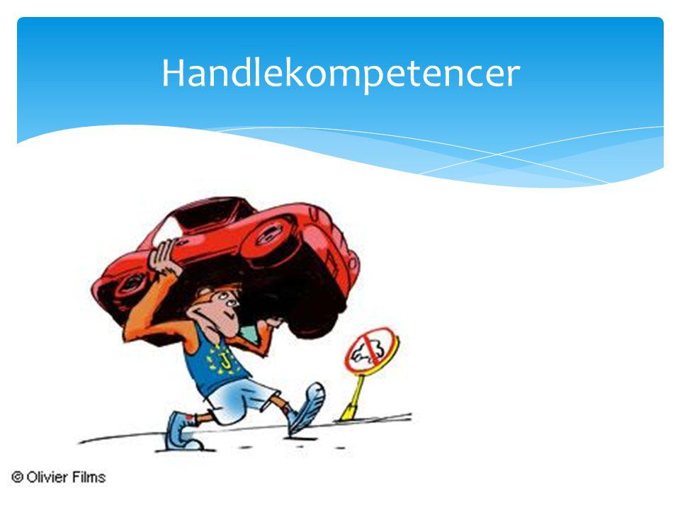 Handlekompetencer
