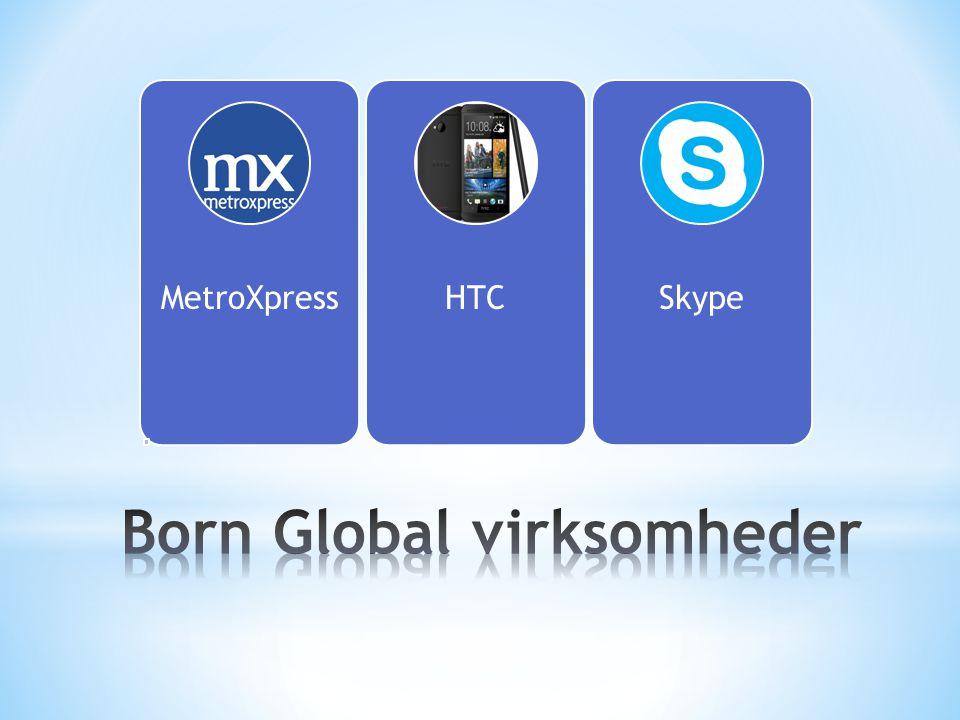 Born Global virksomheder