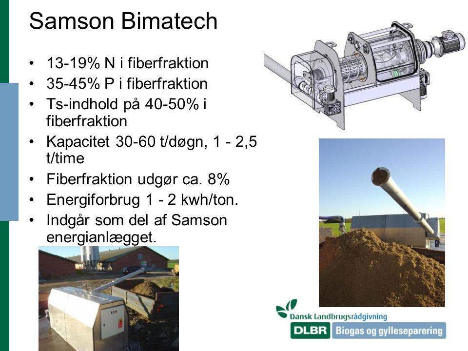 Samson Bimatech 13-19% N i fiberfraktion 35-45% P i fiberfraktion