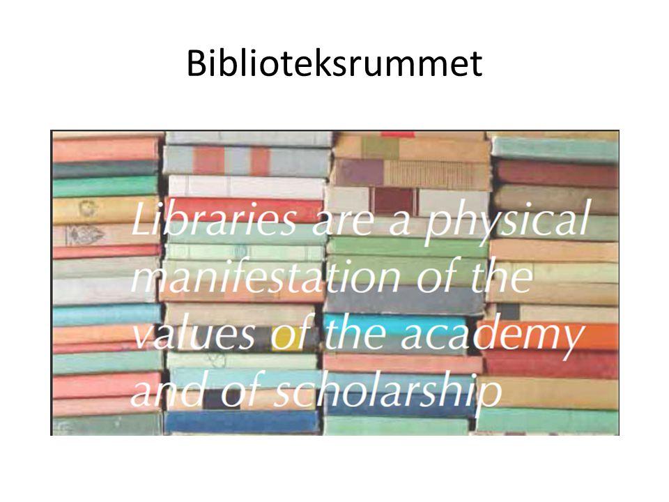 Biblioteksrummet