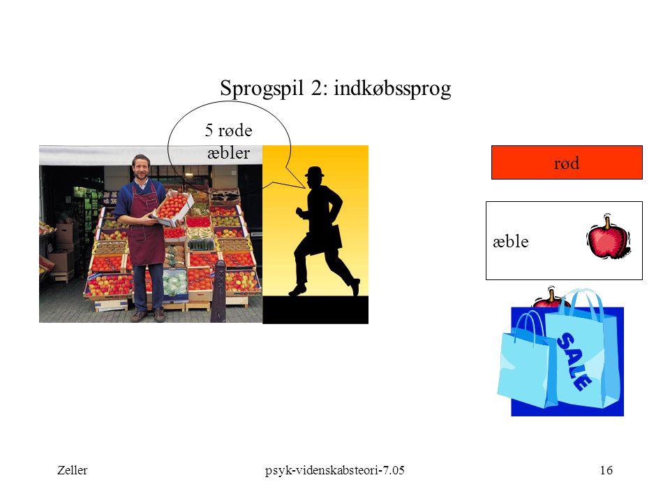 Sprogspil 2: indkøbssprog