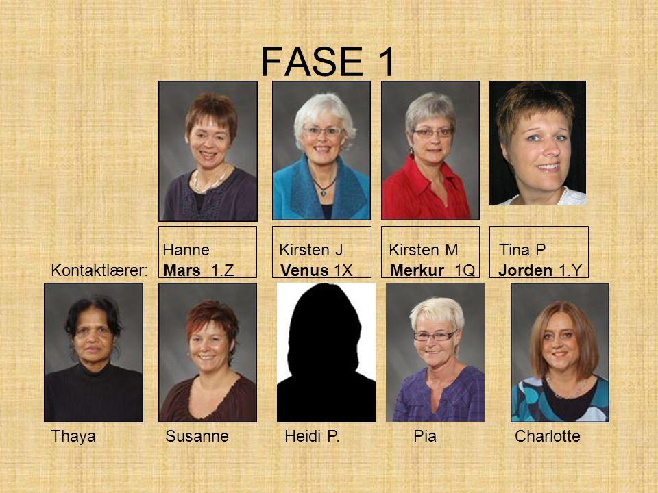 FASE 1 Hanne Kirsten J Kirsten M Tina P