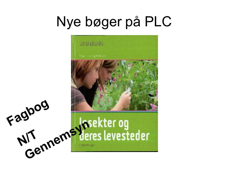 Nye bøger på PLC Fagbog N/T Gennemsyn