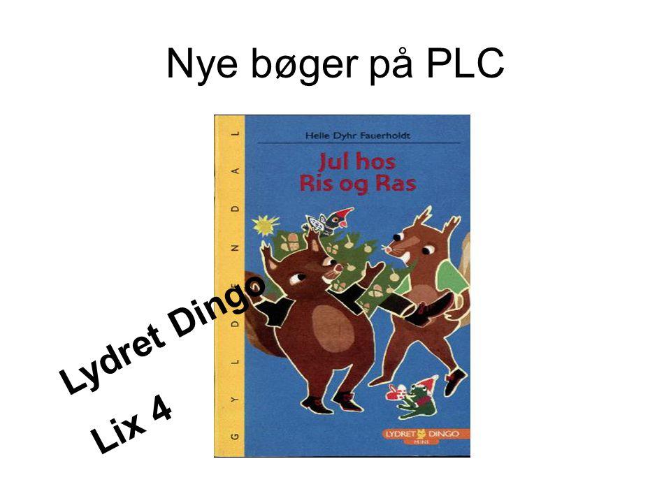 Nye bøger på PLC Lydret Dingo Lix 4