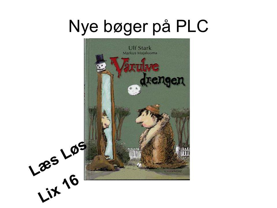 Nye bøger på PLC Læs Løs Lix 16