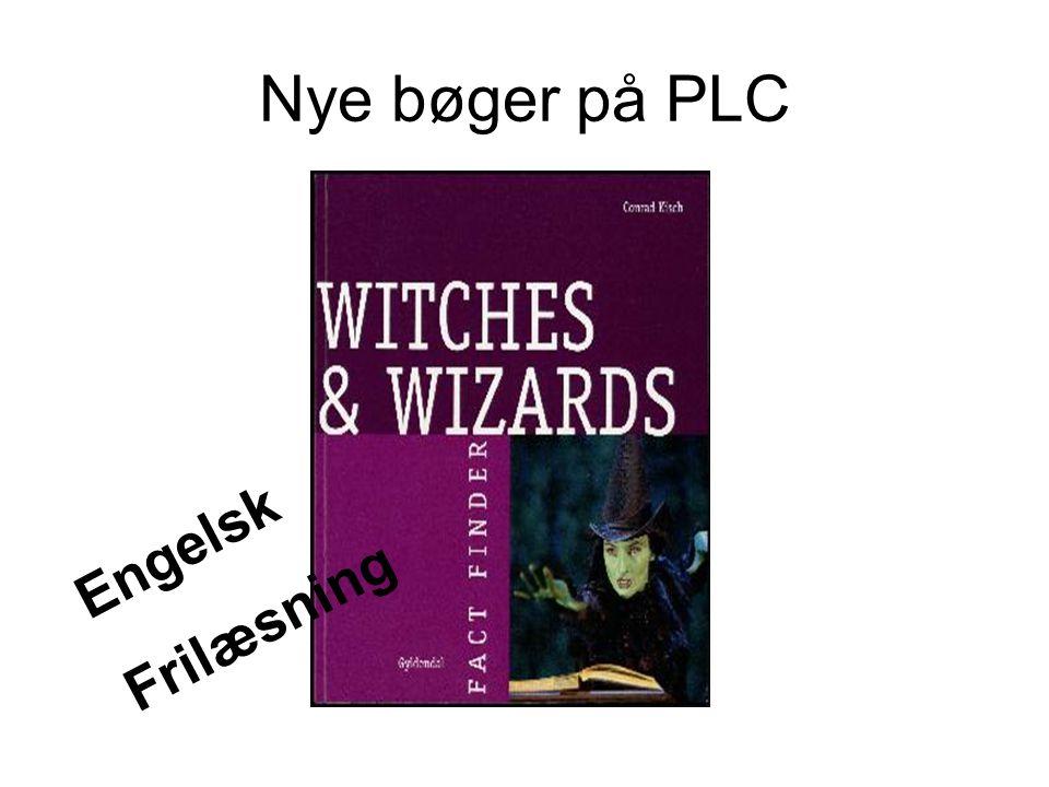 Nye bøger på PLC Engelsk Frilæsning