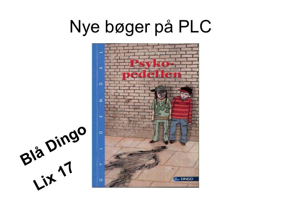 Nye bøger på PLC Blå Dingo Lix 17