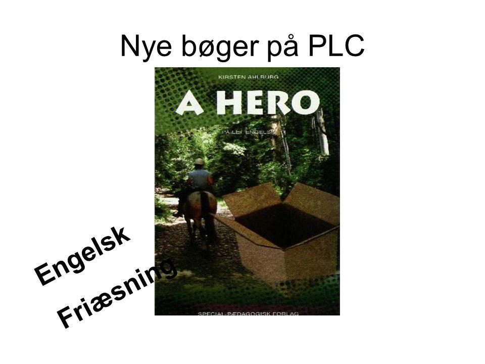 Nye bøger på PLC Engelsk Friæsning