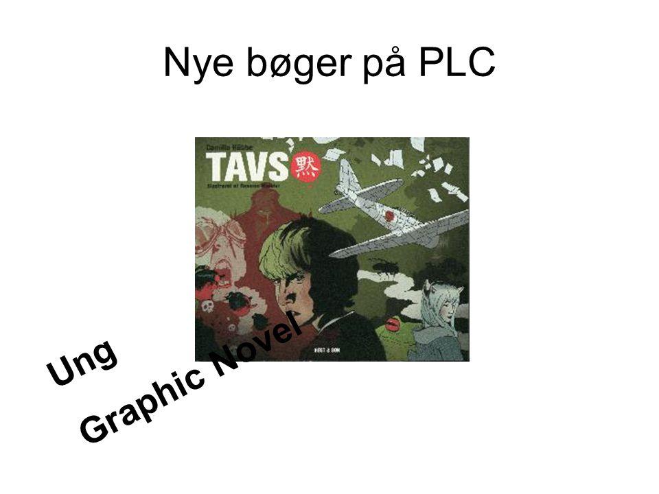Nye bøger på PLC Graphic Novel Ung