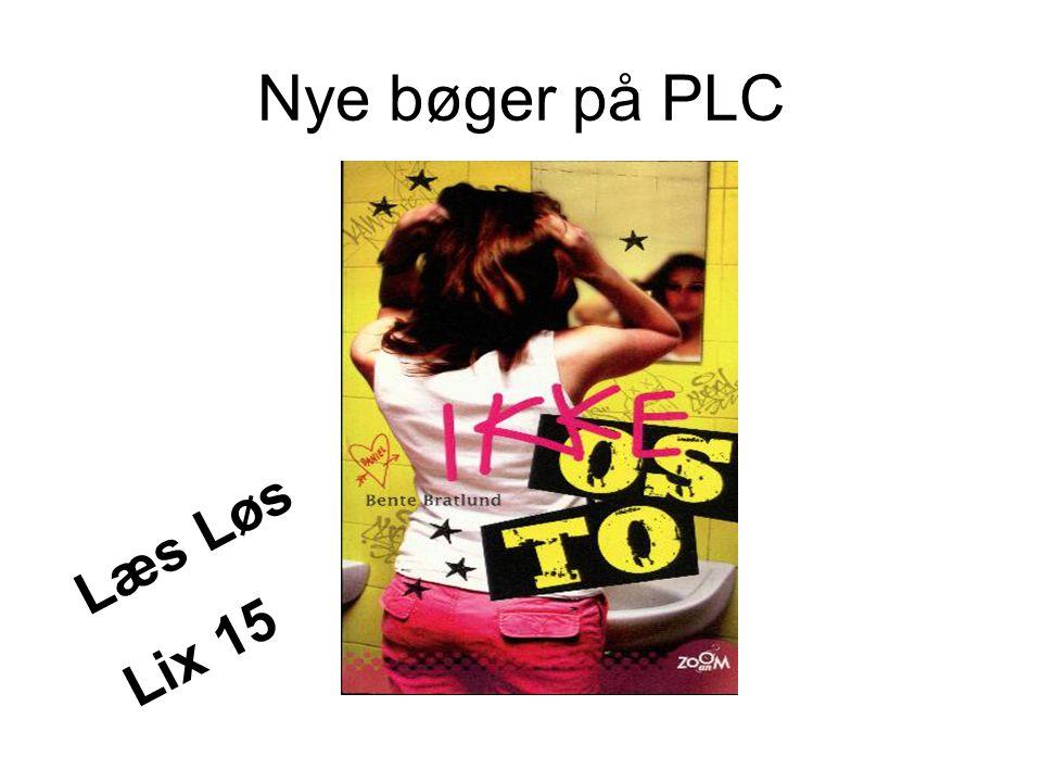 Nye bøger på PLC Læs Løs Lix 15