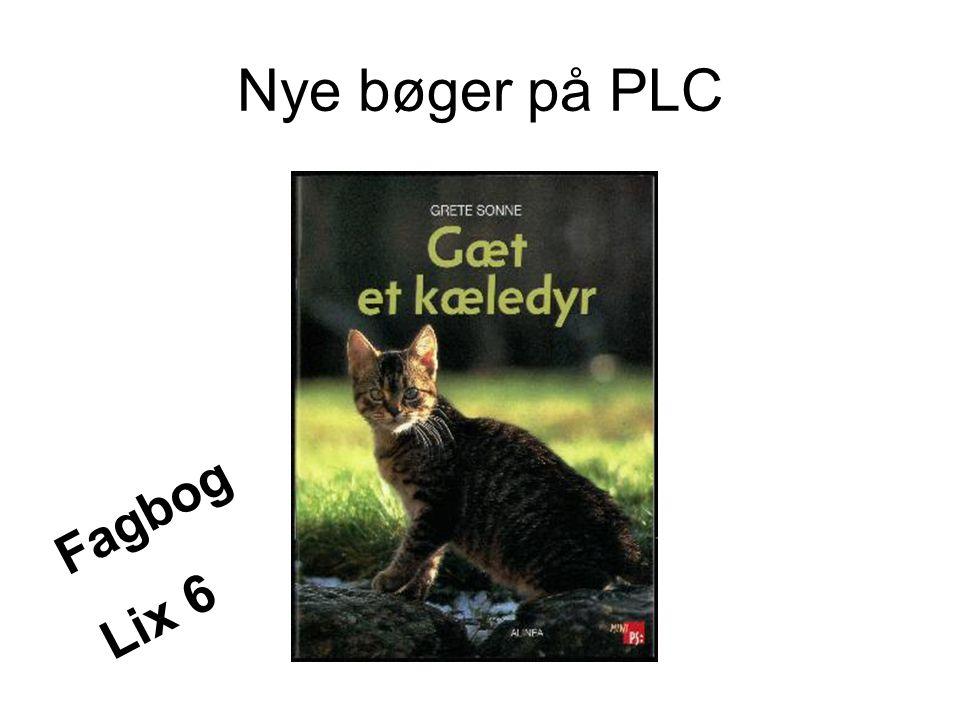 Nye bøger på PLC Fagbog Lix 6