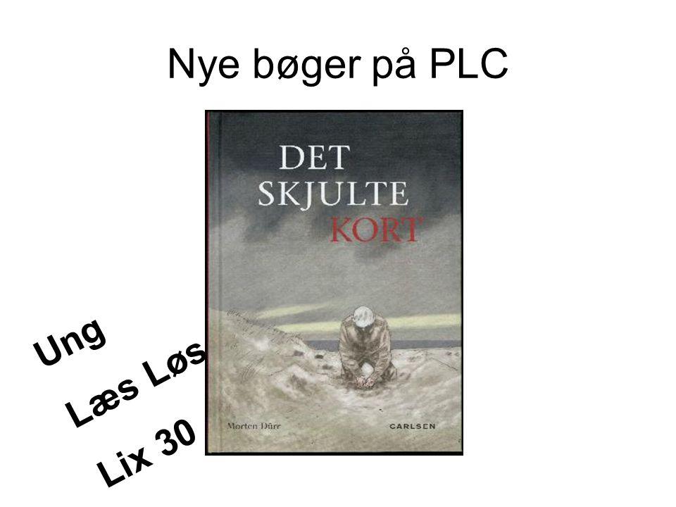 Nye bøger på PLC Ung Læs Løs Lix 30