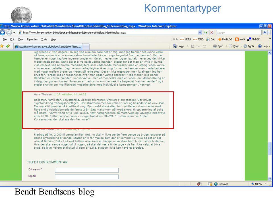 Kommentartyper Bendt Bendtsens blog 34