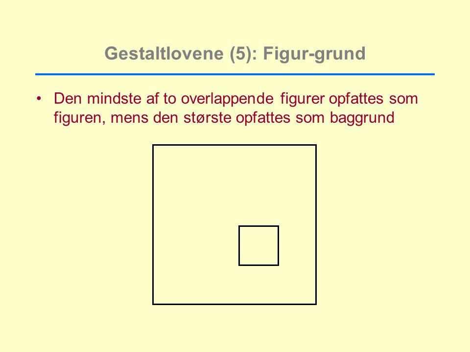 Gestaltlovene (5): Figur-grund