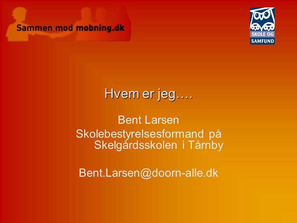 Skolebestyrelsesformand på Skelgårdsskolen i Tårnby