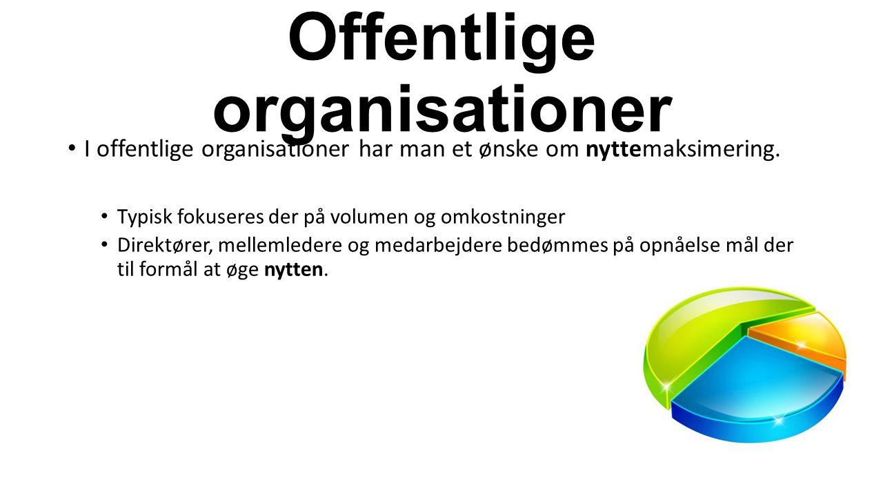Offentlige organisationer