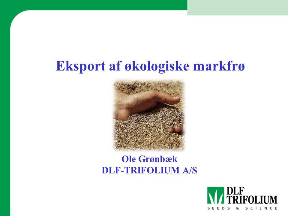 Eksport af økologiske markfrø