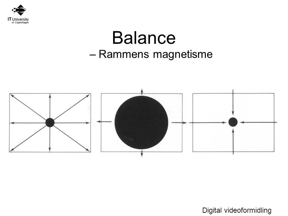 Balance Rammens magnetisme