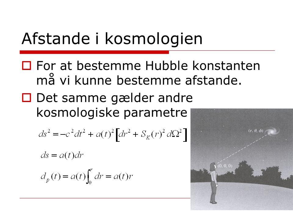 Afstande i kosmologien