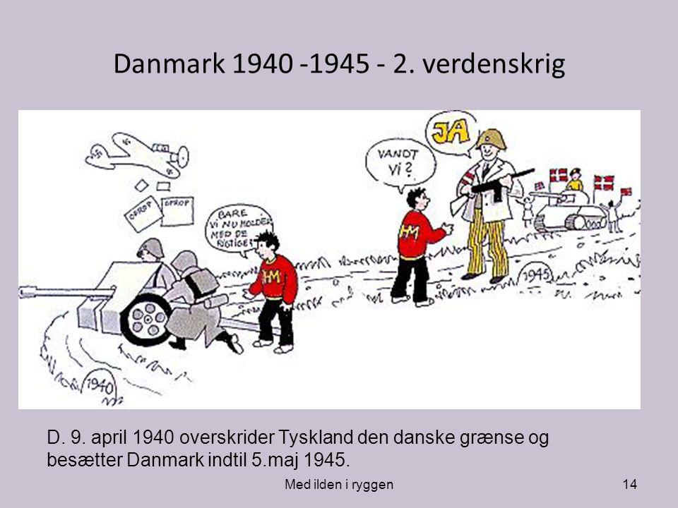 Danmark 1940 -1945 - 2. verdenskrig