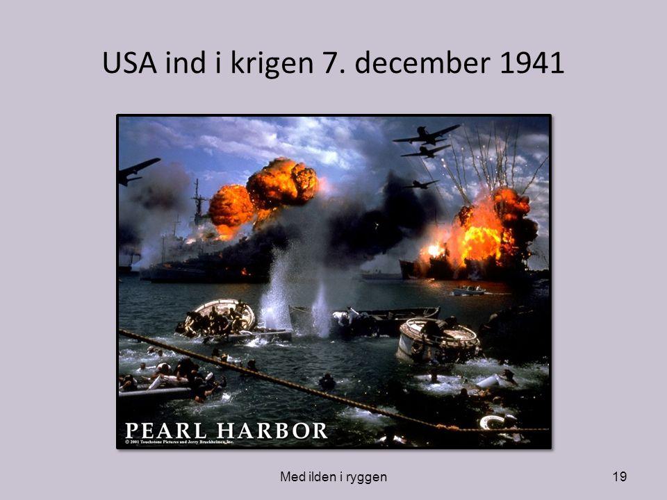 USA ind i krigen 7. december 1941