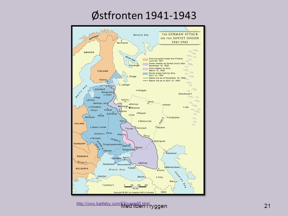 Østfronten 1941-1943 Med ilden i ryggen