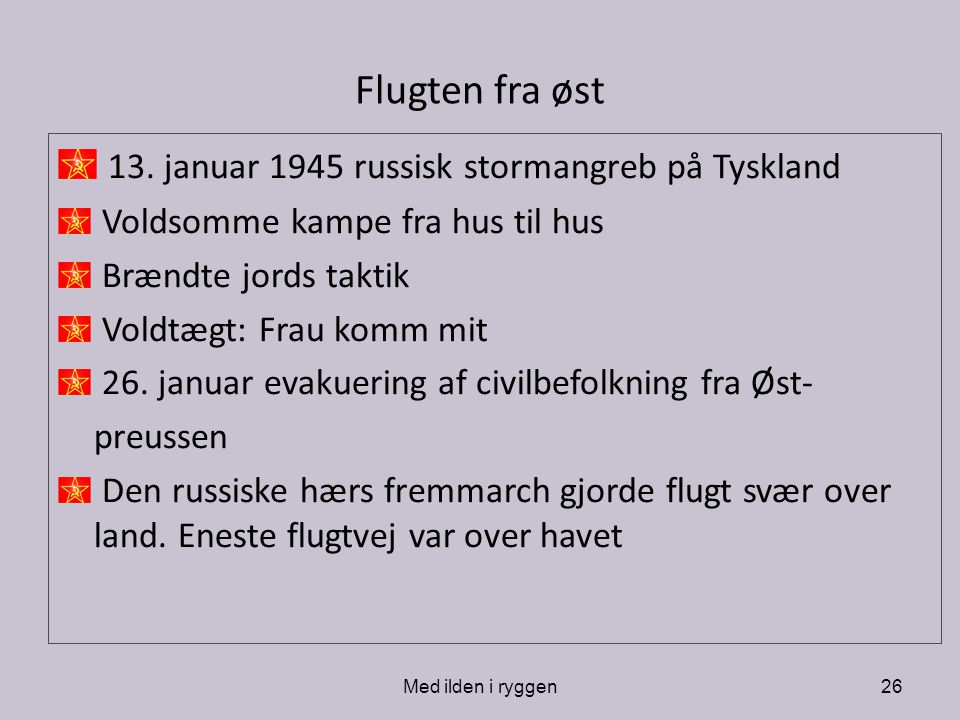 13. januar 1945 russisk stormangreb på Tyskland