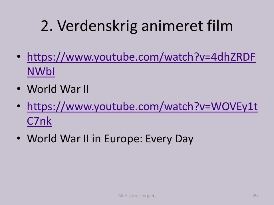 2. Verdenskrig animeret film