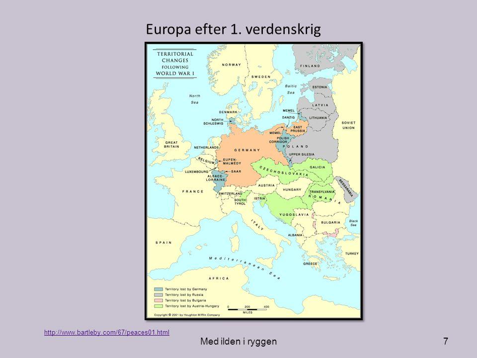 Europa efter 1. verdenskrig