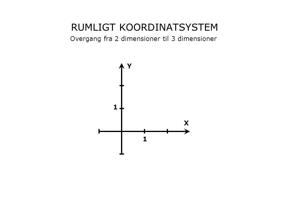 RUMLIGT KOORDINATSYSTEM