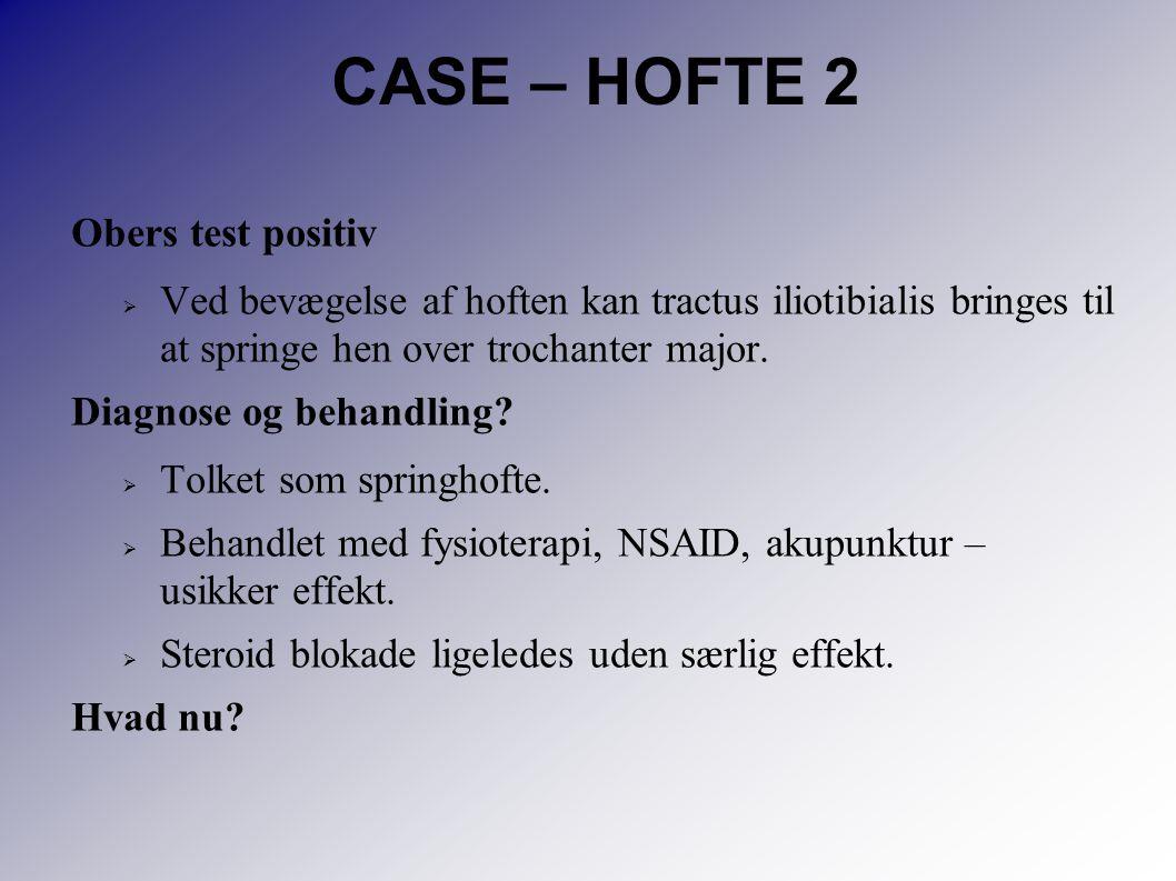 CASE – HOFTE 2 Obers test positiv