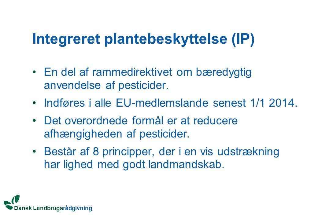 Integreret plantebeskyttelse (IP)