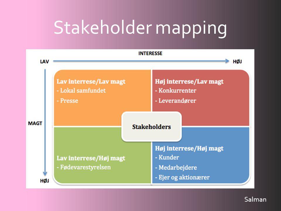 Stakeholder mapping Salman