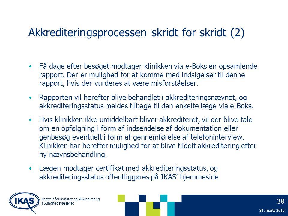 Akkrediteringsprocessen skridt for skridt (2)