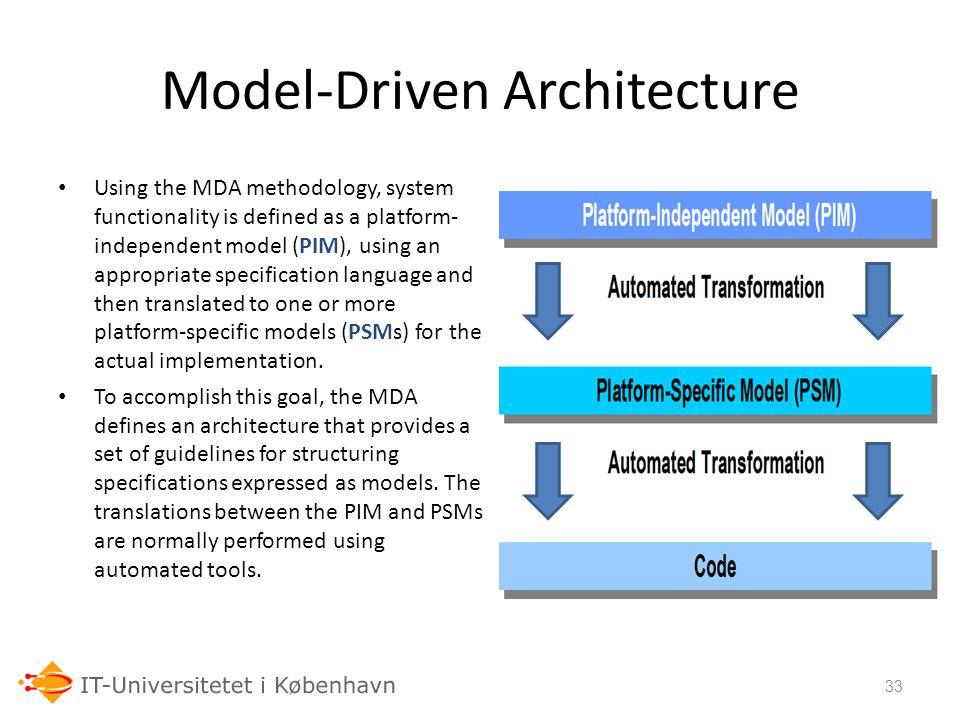 Model-Driven Architecture
