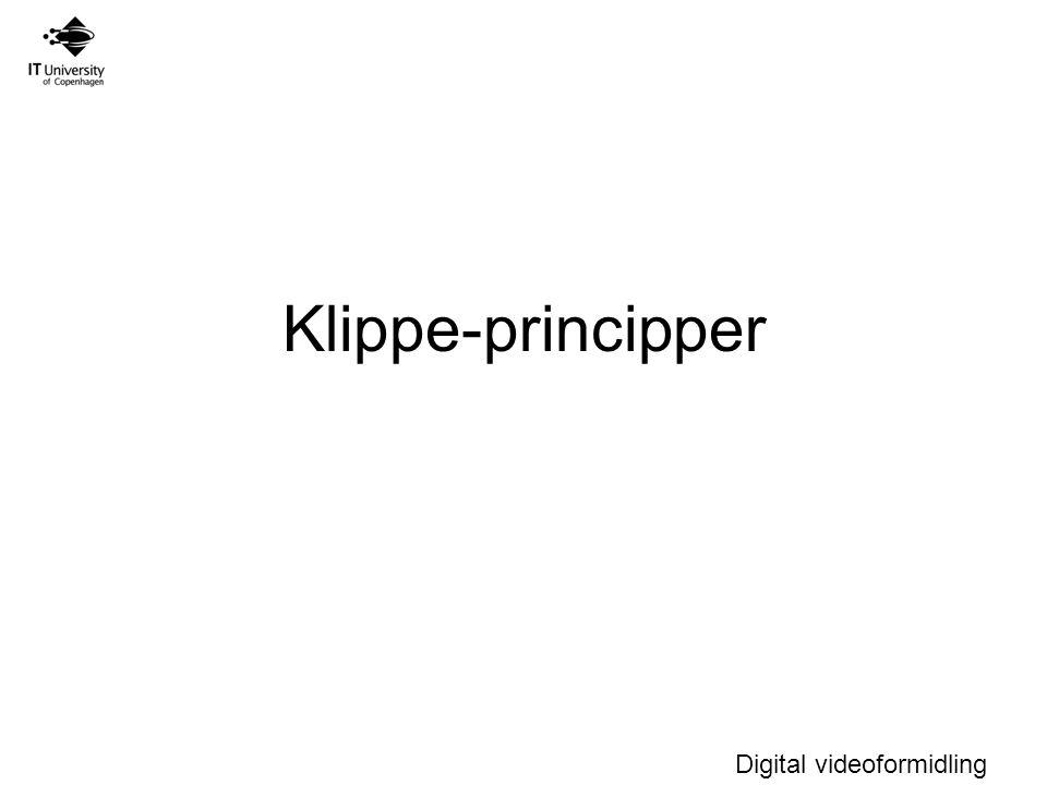 Klippe-principper