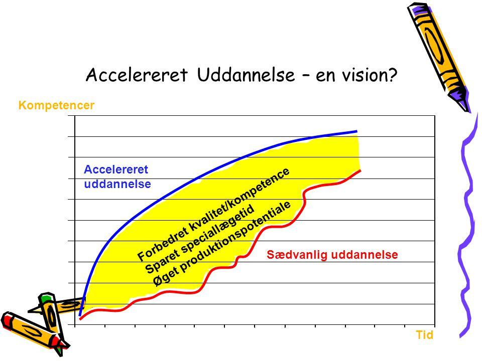 Accelereret Uddannelse – en vision
