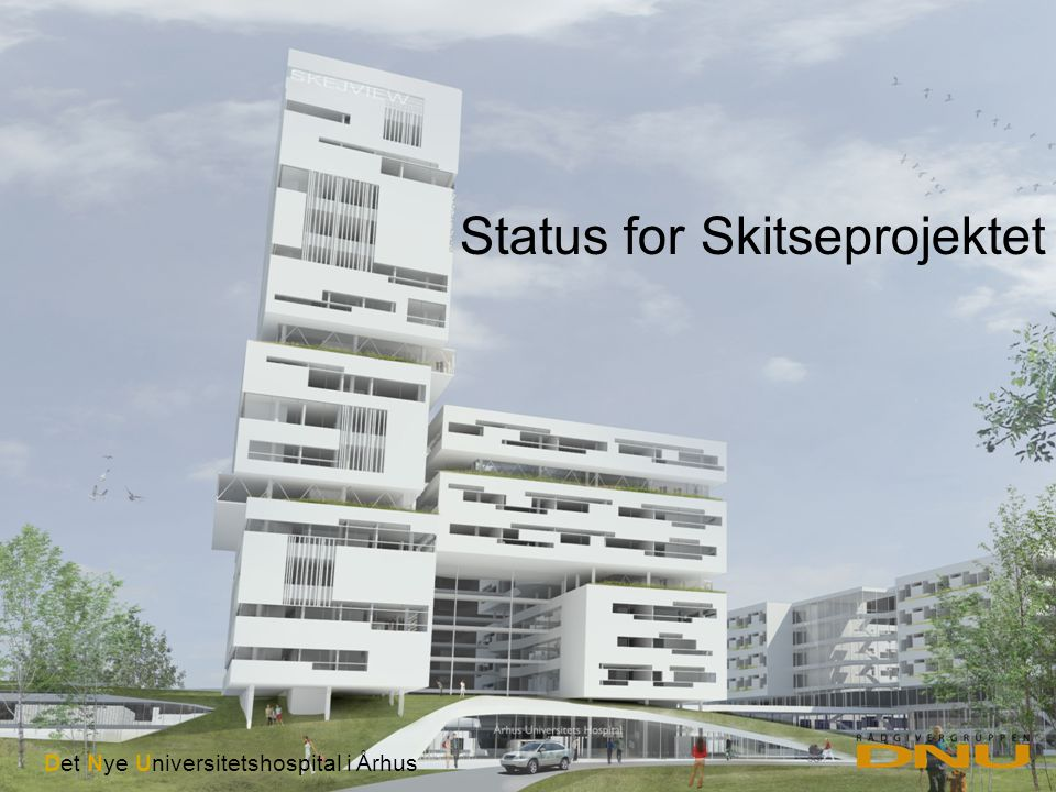 Status for Skitseprojektet