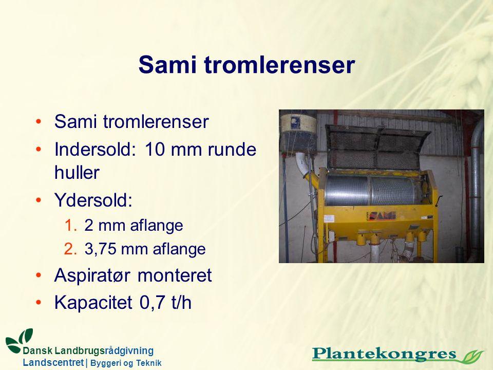 Sami tromlerenser Sami tromlerenser Indersold: 10 mm runde huller