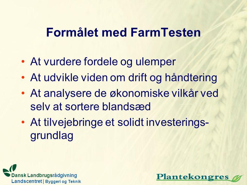 Formålet med FarmTesten
