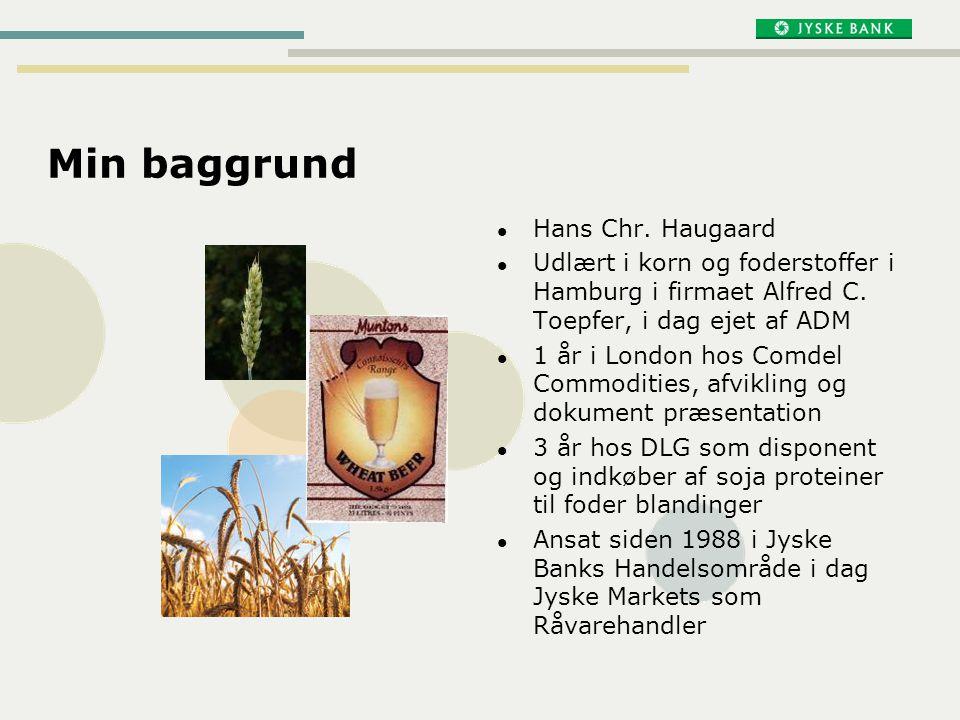 Min baggrund Hans Chr. Haugaard