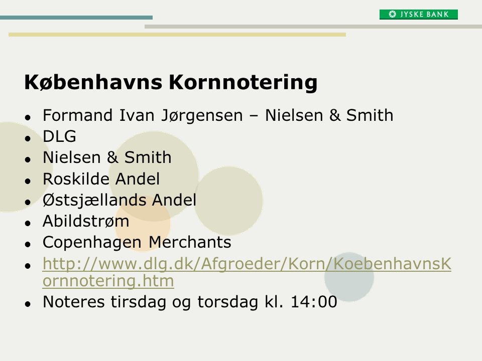 Københavns Kornnotering